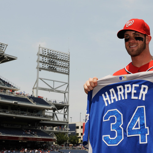 Bryce Harper is the youngest position player All-Star ever.