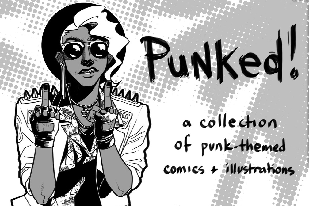 punkedcomic:  Hey everyone!  Just a reminder that our fundraiser is up and running and you should HECKA donate in order to receive sweet sweet books & help out a bunch of cool artists!  http://www.indiegogo.com/punkedcomic?a=555221It's totally okay if you can't donate, but a reblog or two would rule (because you rule!)