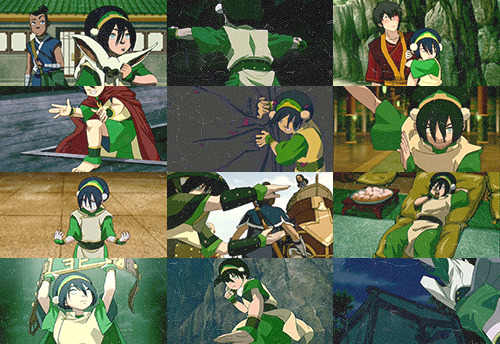 ↪ color meme: toph in green