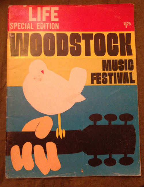 serendipityonthedaily:  The original 1969 Woodstock Life Magazine!!
