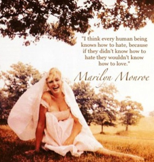 jezebellee:  Marilyn Monroe is perfect all the time and forever. I love her.