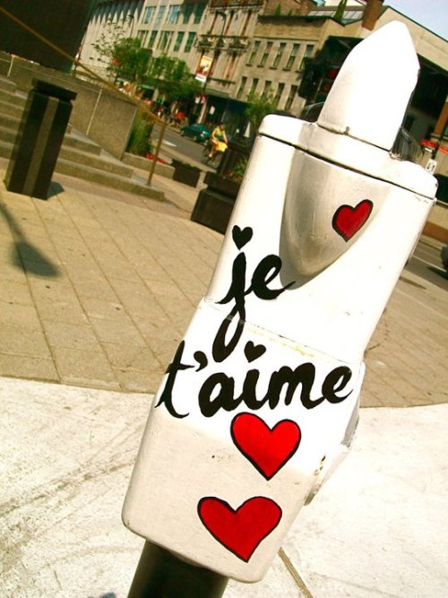 Je T'aime.— I Love You.—