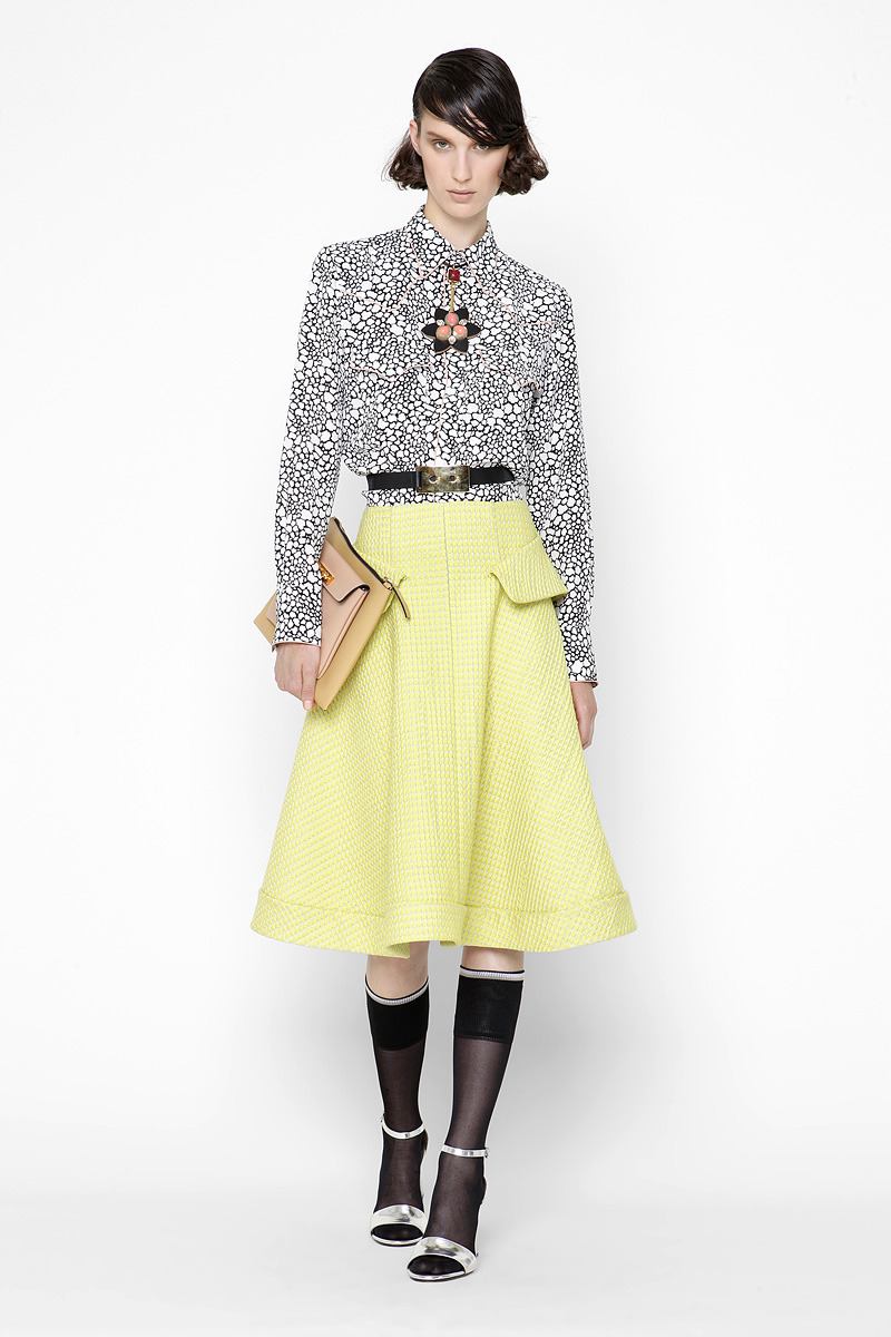 noenespanol:  MARNI Resort 2013 Photo: Courtesy by GoRunway.com