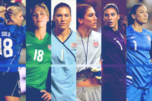 "cranscape:  ""That is Hope Solo. We have Hope Solo. No other country has Hope Solo."" - Pia Sundhage  Tom. Listen to Pia, not to the ""braintrust"" at espnW. Because if you bring insanity with you I for one am checking out. I saw how that went in 2007 and that's nothing I want to be associated with."