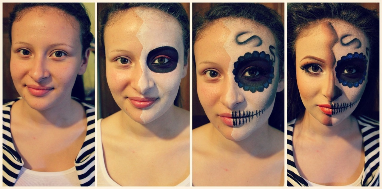 makeup-foryou:  makeupbyjannybaby:  the transformation :) Model: gemajimenez.tumblr.com  Quite lovely.