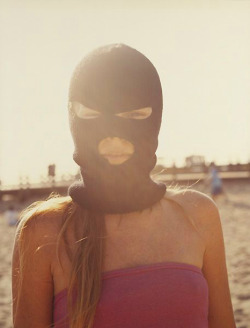 """Girl In Mask"", 2002  By: DOUG AITKEN…."