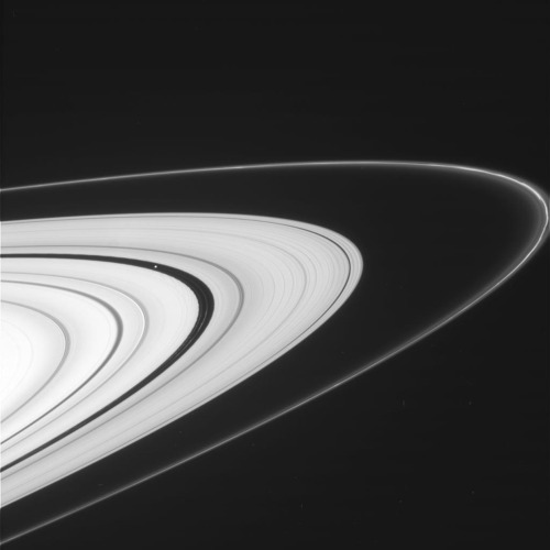 ikenbot:  Saturn's Rings are Back NASA | JPL-Caltech | Cassini Solstice Mission | CICLOPS It's been nearly two years since NASA's Cassini spacecraft has had views like these of Saturn's glorious rings. These views are possible again because Cassini has changed the angle at which it orbits Saturn and regularly passes above and below Saturn's equatorial plane. Steeply inclined orbits around the Saturn system also allow scientists to get better views of the poles and atmosphere of Saturn and its moons. Cassini's recent return of ring images has started to pay off. A group of scientists has restarted the team's studies of propeller-shaped gaps. These gaps are cleared out by objects that are smaller than known moons but larger than typical ring particles. Cassini scientists haven't seen propellers in two years. Matt Tiscareno, a Cassini imaging team associate at Cornell University, Ithaca, N.Y., and colleagues have been following these objects for several years. Because some of the propellers are exactly where models predicted they would be, scientists believe they are seeing some old friends again.