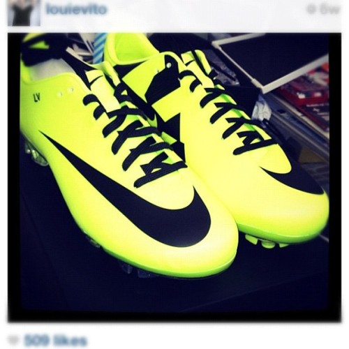 I'm in love guys ❤😍⚽👌 #cleats #soccer #LoveAtFirstSight  (Taken with Instagram)