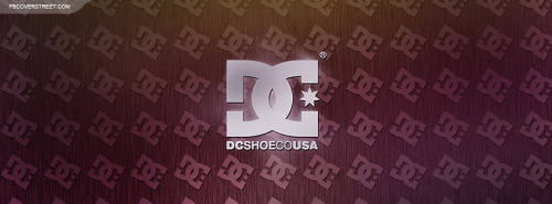 DC Shoes Silver Logo Facebook Cover