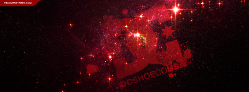 DC Shoes Logo Universe Facebook Cover