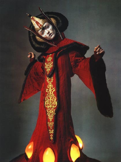 forgottenbennet:  Queen Amidala's costumes in Vogue magazine (that's not Natalie)