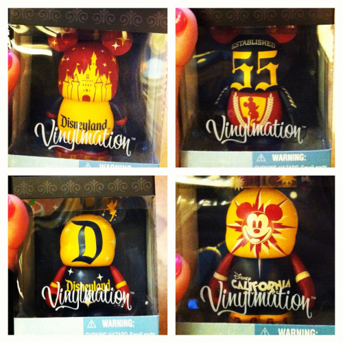 Disneyland resort vinylmations