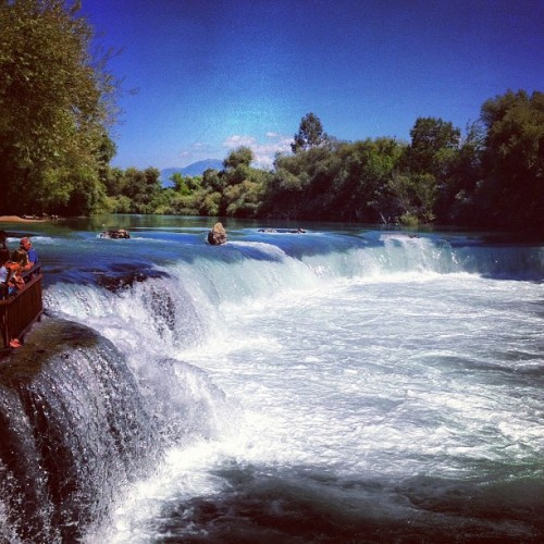 Hej vattenfall! #turist (Taken with Instagram at Manavgat Waterfalls)