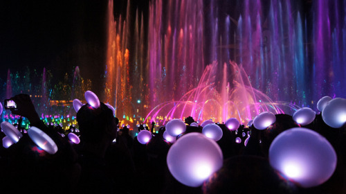 Glow With The Show: World of Color on Flickr.