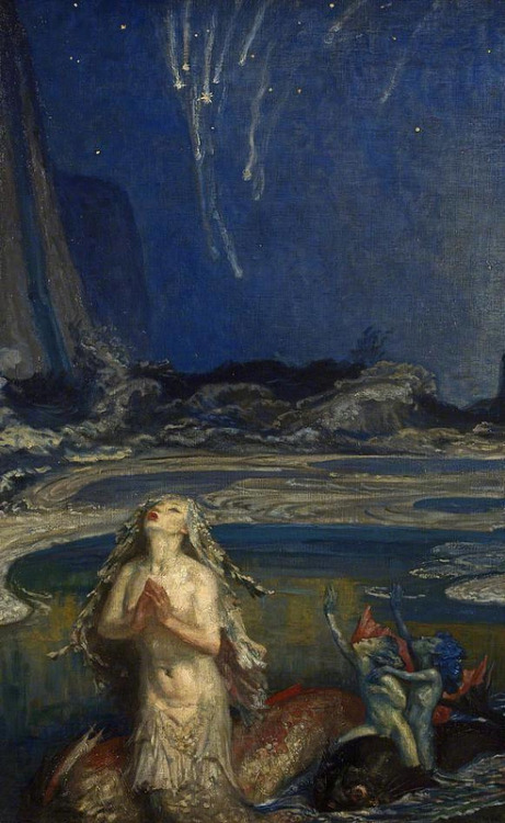 sisterwolf:  Mermaid!  Robert Anning Bell, 1919