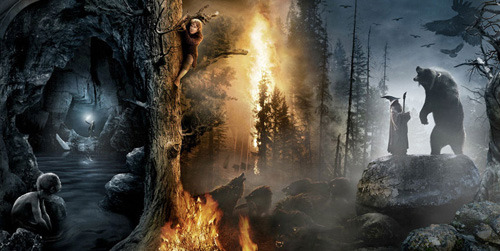 The Hobbit gets a vast new banner poster The Hobbit: An Unexpected Journey has released a huge new banner which looks as though it should appear on a curled-up piece of parchment rather than your common or garden billboard!