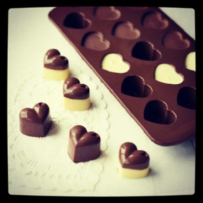 #hearts #chocolates #yummy #delicous #sweets #instafood #instagood  (Taken with Instagram)