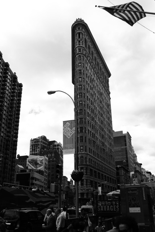my-perspective-on-things:  flatiron building New York City