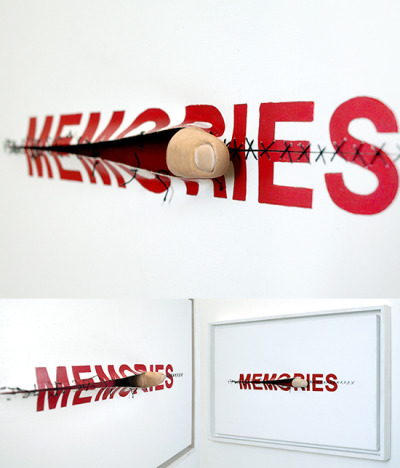 "visual-poetry:  ""memories"" by anatol knotek"