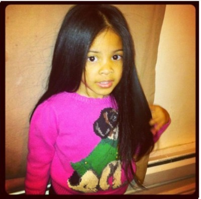 How does this child have much, much nicer hair than me?! She just is the cutest thing!! <3