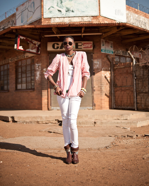 megzrowe:  Can't get enough of these South African Street Style shots by Chris Saunders
