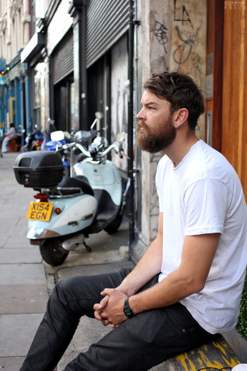100beards:  10. James: Shoreditch High Street, London