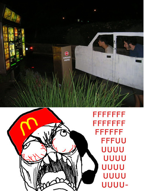 the-absolute-funniest-posts:  Drive through rage