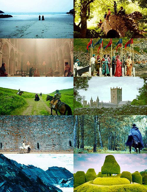 exsanguinate:  Beautiful Landscape Shots of The Hollow Crown: Richard II