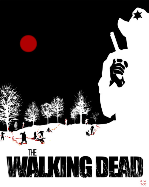 The Walking Dead by ~R0b0C