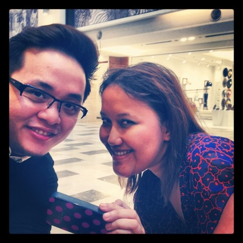 Look what I found scurrying around Publika! (Taken with Instagram)
