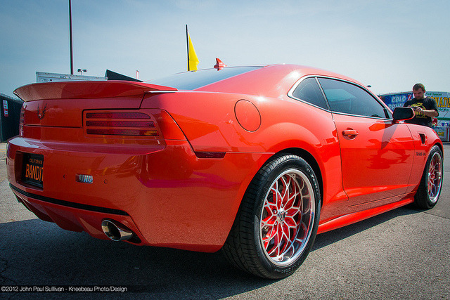 musclecarblog:  2012 Pontiac Firebird Trans Am Phantom Rear 3/4 View by John P Sullivan on Flickr.