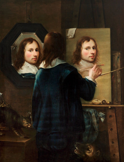 Self Portrait by Johannes Gumpp Austria, 1646 Painting, Oil on canvas