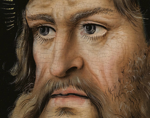 The Feilitzsch Alterpeice - Right Wing (Saint Paul) (detail) by Lucas Cranach the Elder Germany, 1511-12 Painting, Oil on canvas
