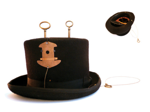 ABRACADABRAA pinhole camera in a top hat(via Francesco Capponi)
