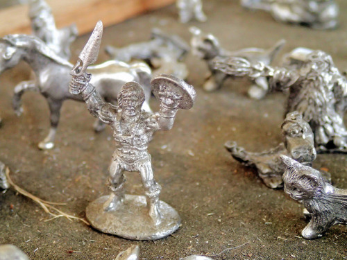 By the Power of Grayskull on Flickr.Found this awesome little pewter He-Man at the Kutztown Folk Festival.  Should have bought it…