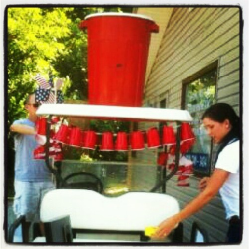 #RedSoloCup , I fill you Up (Taken with Instagram)