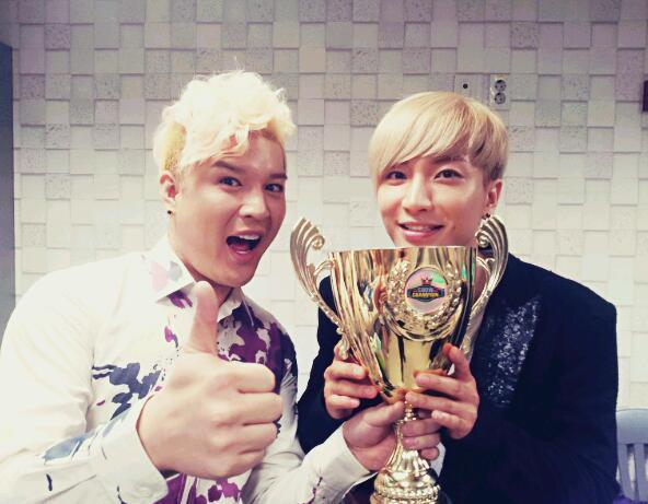 Super Junior wins this week's show champion! :3