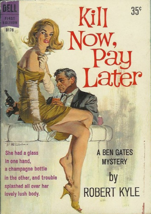 Robert McGinnis did a new cover for the Hard Case Crime reprint of this book.