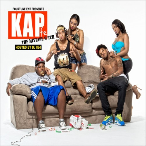 "KAP - #KAPfe (self-released, 2012) KAP, who are really only known for their (or Lil G, more specifically) excellent collaboration with Chief Keef, ""Tatted Like Amigos"", released their latest mixtape yesterday. As a group of three kids out of Atlanta, they sound inconspicuously like Travis Porter - one of the members ever bares an uncanny resemblance to Ali, and I'm almost entirely sure that is Ali's twin brother or Ali himself under another pseudonym. Lil G is the clear stand-out of the group, as Not Ali and their chubby friend offer little that we've yet to hear, but Lil G's Lil Mexico lingo and off-key sing-song almost takes this tape above the cusp of mediocrity (as it stands, it never truly ascends anywhere aside from ""Amigos"")."