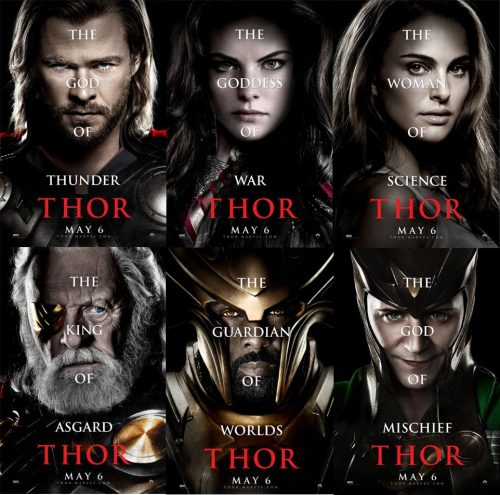 "Wow! I didn't know that Thor could be all of that! I mean, ""The woman of science; THOR."""