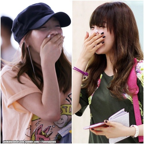 pinkbloodedsone:  The way these two laughs exactly the same n_n