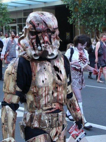 douchebotchery:  Zombie Storm Trooper