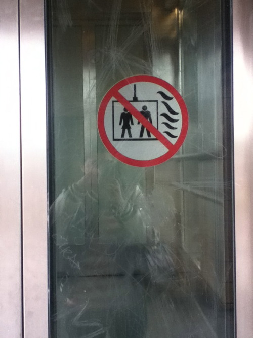 Do not use elevator to shelter yourself from the giant slug invasion.