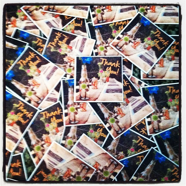 Now that's a LOT of StickyGrams… and a great idea for party favours! Thanks to @daniellerebel for the image