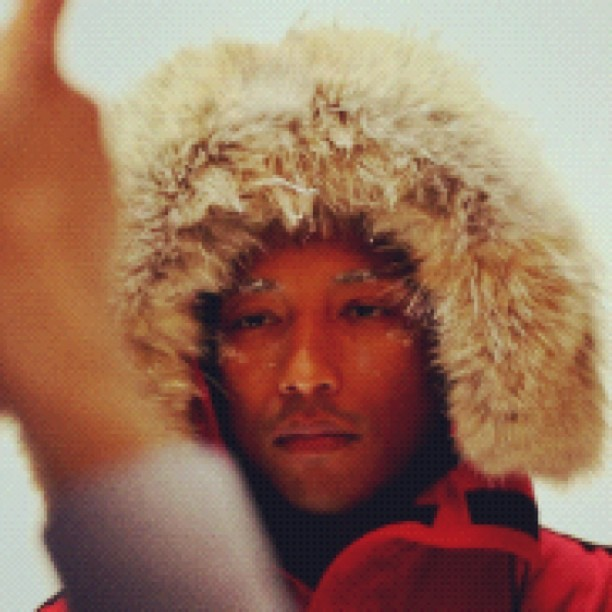 #Pharrell behind the scene photo shoot w/ #Highsnobiety Magazine Issue 5 (Taken with Instagram)