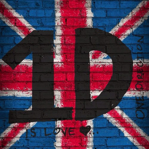 #1D is #love #onedirection #greatbritain #flag (Taken with Instagram)