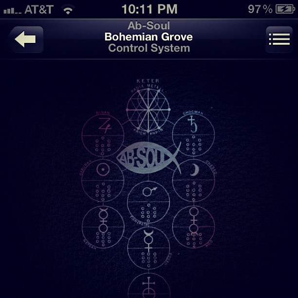 Morning … Ab-Soul | Bohemian Grove .mp3 (Taken with Instagram)