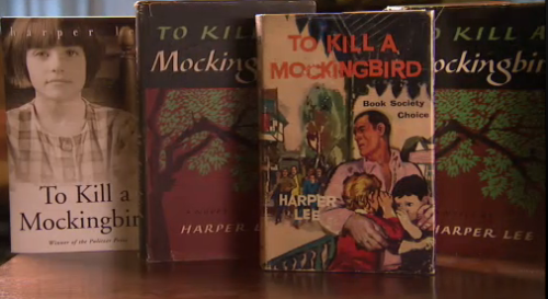 "think-progress:  pbsthisdayinhistory:  July 11, 1960:  ""To Kill a Mockingbird"" Published On this day in 1960, the classic novel ""To Kill a Mockingbird"" by Harper Lee was published for the first time.  The novel, loosely based on observations and occurrences near Lee's hometown when she was 10 years old, won the Pulitzer Prize and became one of the most influential books of the century.  Watch the full documentary, ""Harper Lee: Hey, Boo"", on the mysterious author of ""To Kill a Mockingbird"" who removed herself from the public limelight – refusing any publicity for herself or the novel – in 1964.  ""I think there's just one kind of folks. Folks."" -Scout Finch"