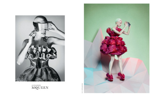 businessoffashion:  Alexander McQueen Autumn/Winter 2012 campaign by David Sims