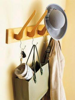 Coat rack using coat hangers